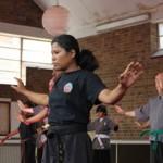 Practising chi gung