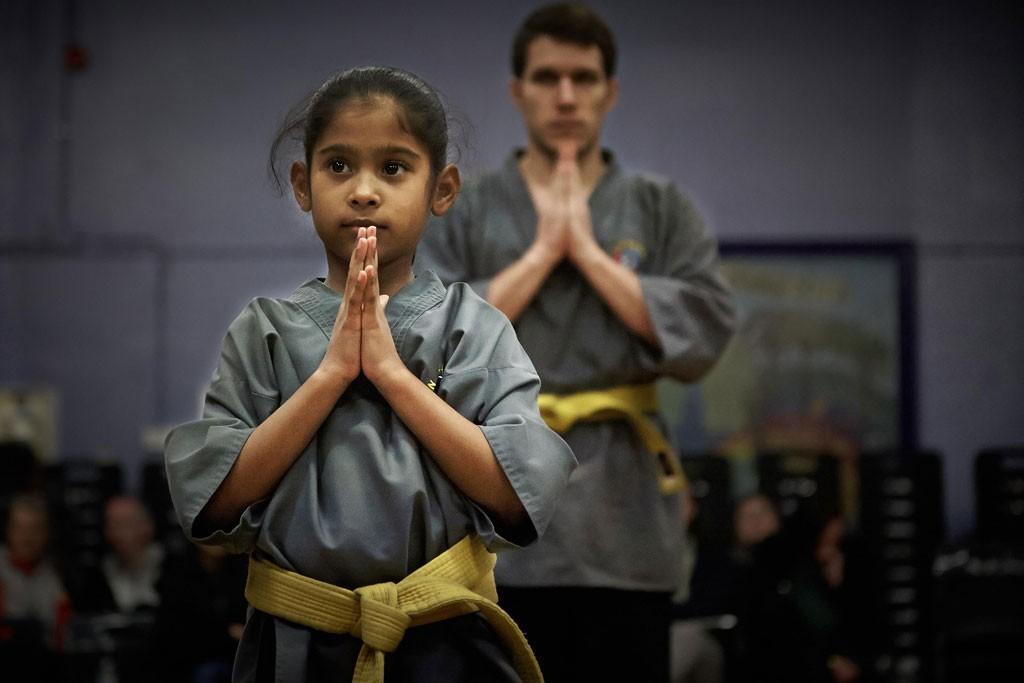 Shaolin Kung Fu Instilling discipline