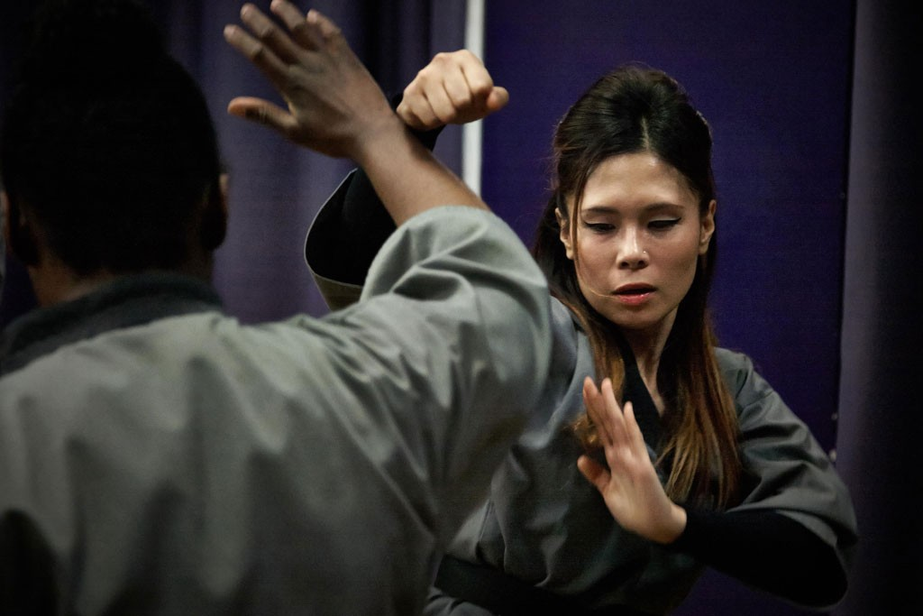 Shaolin Kung Fu Learning self defence